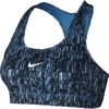 NIKE VICTORY COMPRSSION SCREEN FUZZ SPORTS BRA