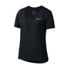 NIKE ZONAL COOLING RELAY TOP SHORT SLEEVE