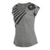 REEBOK ONE SERIES TRIBLEND V NECK TEE