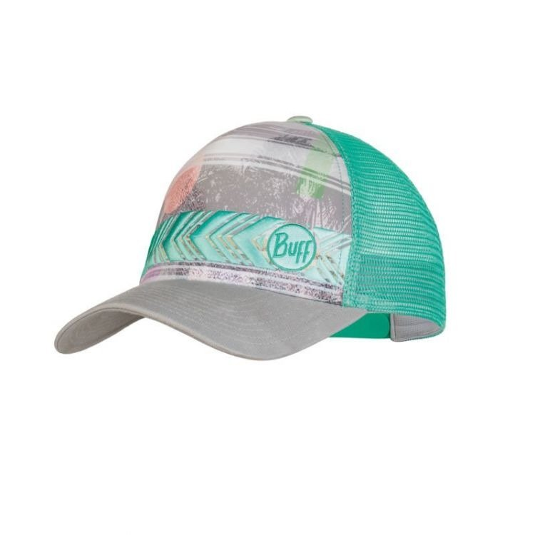 czapka do biegania BUFF TRUCKER CAP BIOME AQUA / 119534.711.10.00 RunnersClub 42652