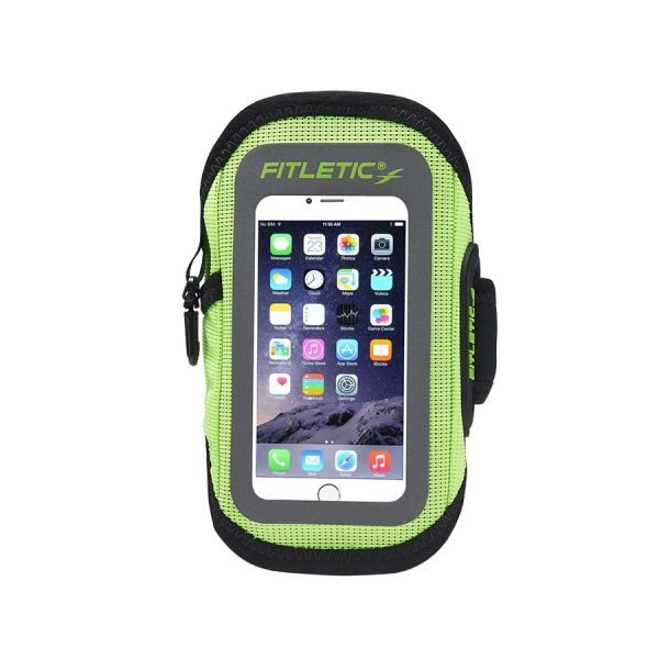 FITLETIC Surge Armband : GRN, S/M RunnersClub 40582