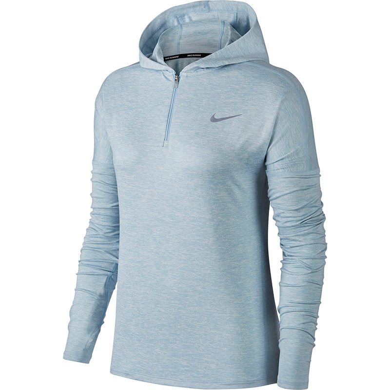 bluza do biegania damska NIKE ELEMENT HALF ZIP HOODIE / 855515-452 RunnersClub 38534