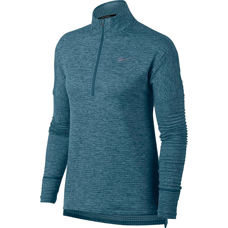 bluza do biegania damska NIKE THERMA ELEMENT SPHERE HALF ZIP / 855521-407 RunnersClub 38544