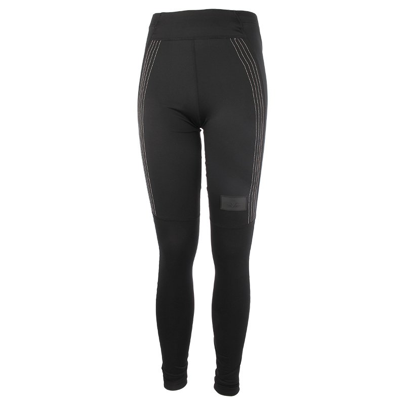 legginsy do biegania damskie NEWLINE BLACK WING WIPER TIGHTS / 77302-060 RunnersClub 37028