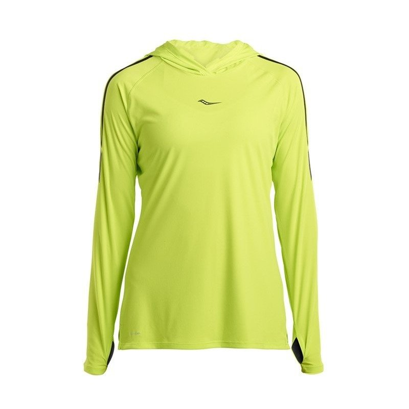 bluza do biegania damska SAUCONY UV LITE LONG SLEEVE / SAW800250-LP RunnersClub 42259