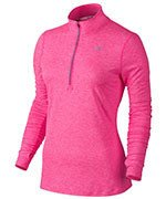 bluza do biegania damska NIKE ELEMENT HALF ZIP / 685910-639