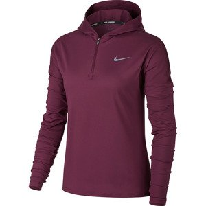 bluza do biegania damska NIKE ELEMENT HALF ZIP HOODIE / 855515-659