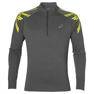 bluza do biegania męska ASICS STRIPE LONG SLEEVE 1/2 ZIP / 141203-0773
