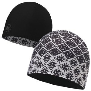 czapka dwustronna do biegania BUFF MICROFIBER REVERSIBLE HAT BUFF / 115338.555.10.00