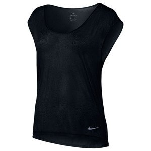 koszulka do biegania damska NIKE BREATHE TOP SHORT SLEEVE COOL / 831784-010