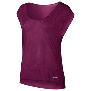 koszulka do biegania damska NIKE BREATHE TOP SHORT SLEEVE COOL / 831784-665