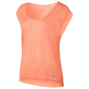 koszulka do biegania damska NIKE BREATHE TOP SHORT SLEEVE COOL / 831784-832