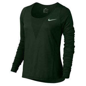 koszulka do biegania damska NIKE ZONAL COOLING RELAY TOP LONG SLEEVE / 831514-010