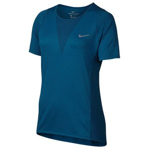 koszulka do biegania damska NIKE ZONAL COOLING RELAY TOP SHORT SLEEVE / 831512-457