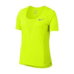 koszulka do biegania damska NIKE ZONAL COOLING RELAY TOP SHORT SLEEVE / 831512-702