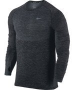 koszulka do biegania męska NIKE DRI-FIT KNIT LONG SLEEVE / 717760-065
