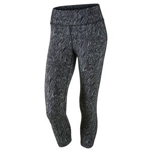 legginsy do biegania damskie 3/4 NIKE POWER EPIC RUNNING CROP / 799820-010