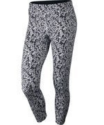 legginsy do biegania damskie 3/4 NIKE PRONTO ESSENTIAL CROP / 777168-010