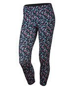 legginsy do biegania damskie 3/4 NIKE PRONTO ESSENTIAL CROP / 777168-404