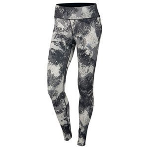 legginsy do biegania damskie NIKE POWER  ESSENTIAL PRINT TIGHT / 848004-010
