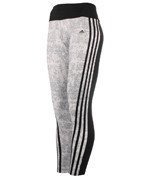 legginsy sportowe damskie ADIDAS ESSENTIALS 3-STRIPES TIGHT ALLOVER PRINTED / AZ9481