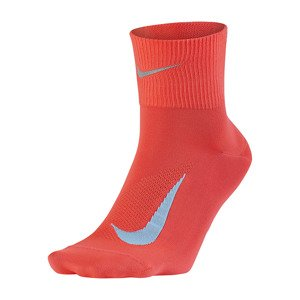 skarpety do biegania NIKE ELITE LIGHTWEIGHT QUARTER RUNNING (1 para) / SX5194-667