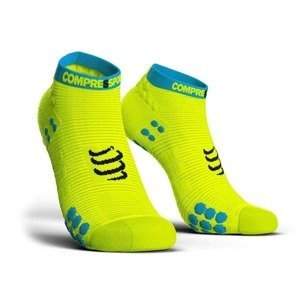 skarpety kompresyjne COMPRESSPORT RACING SOCKS V3.0 LOW CUT SMART (1 para) / YELLOW