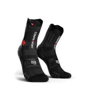 skarpety kompresyjne COMPRESSPORT RACING SOCKS V3.0 TRAIL SMART (1 para) / BLACK