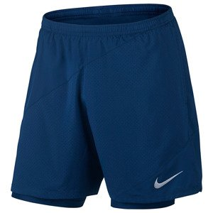 spodenki do biegania męskie NIKE 7IN DISTANCE FLEX 2-IN-1  SHORT / 834222-429