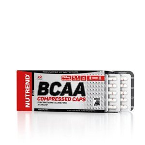 suplement NUTREND BCAA COMPRESSED 120 CAPS