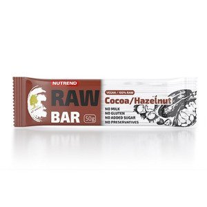 suplement NUTREND RAW BAR 50G KAKAO+ORZECH