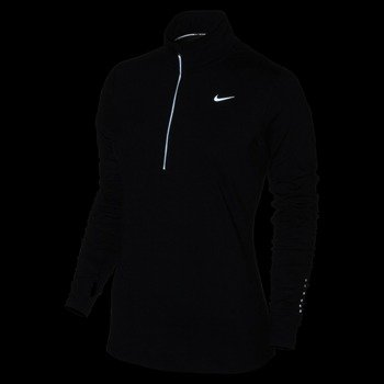 bluza do biegania damska NIKE ELEMENT HALF ZIP / 685910-010