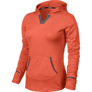 bluza do biegania damska NIKE ELEMENT HOODY SOLID / 545894-847