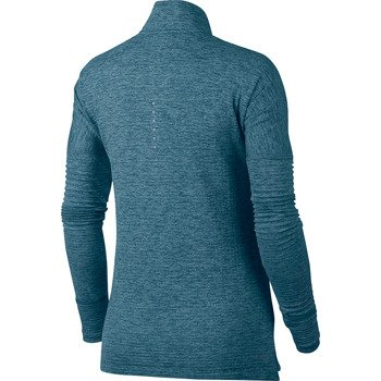 bluza do biegania damska NIKE THERMA ELEMENT SPHERE HALF ZIP / 855521-407