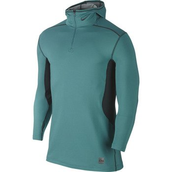 bluza termoaktywna męska NIKE PRO COMBAT HYPERWARM FITTED DRI-FIT MAX ATHLETE HOODED / 624878-300