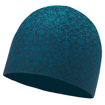 czapka dwustronna do biegania BUFF MICROFIBER REVERSIBLE HAT BUFF / 115336.718.10.00