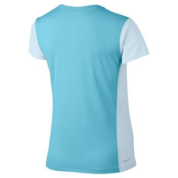 koszulka do biegania damska NIKE BREATHE RAPID TOP SHORT SLEEVE / 840173-411