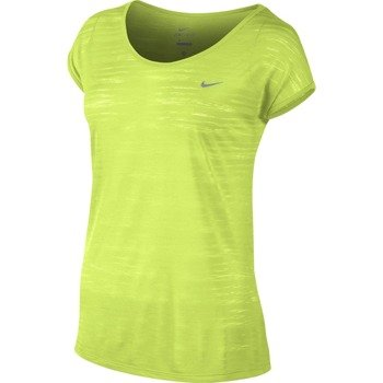 koszulka do biegania damska NIKE DRI FIT COOL BREEZE SHORTSLEEVE TOP / 644710-702