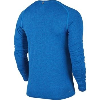 koszulka do biegania męska NIKE DRI-FIT KNIT LONG SLEEVE / 717760-458
