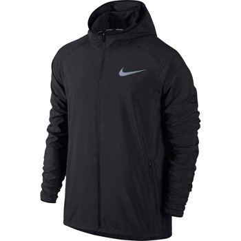 kurtka do biegania męska NIKE ESSENTIAL HOODED JACKET / 856892-010