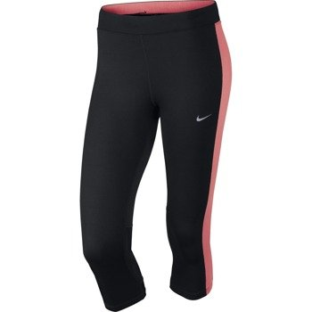 legginsy do biegania damskie 3/4 NIKE DRI-FIT ESSENTIAL CAPRI / 645603-014