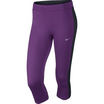 legginsy do biegania damskie 3/4 NIKE DRI-FIT ESSENTIAL CAPRI / 645603-513
