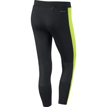 legginsy do biegania damskie 3/4 NIKE DRI-FIT ESSENTIAL CROP / 667623-011