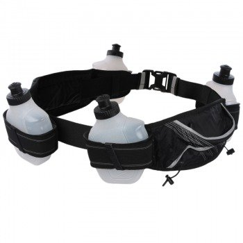pas do biegania NIKE LIGHTWEIGHT HYDRATION BELT 4 BOTTLE / NRB05-010