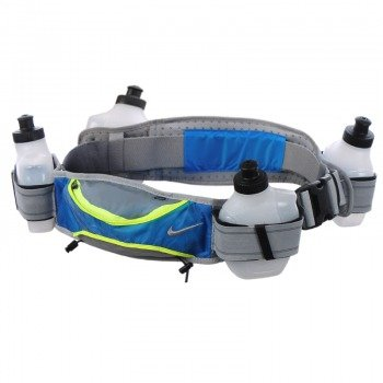 pas do biegania NIKE LIGHTWEIGHT HYDRATION BELT 4 BOTTLE / NRL12-145