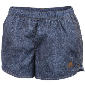 spodenki do biegania damskie ADIDAS INFINITE SERIES M10 DENIM SHORT / S12321