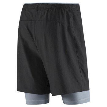spodenki do biegania męskie REEBOK RUNNING ESSENTIALS 2-in-1 SHORT / BR4516
