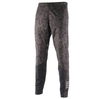 spodnie do biegania męskie NEWLINE IMOTION PRINTED THERMAL PANTS / 11058-617