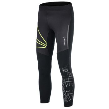 spodnie do biegania męskie REEBOK WINTER TIGHT / A99448
