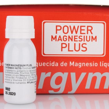 suplement POWERGYM MAGNESIUM PLUS 15ml ampułki